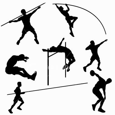 легкая атлетика в картинках